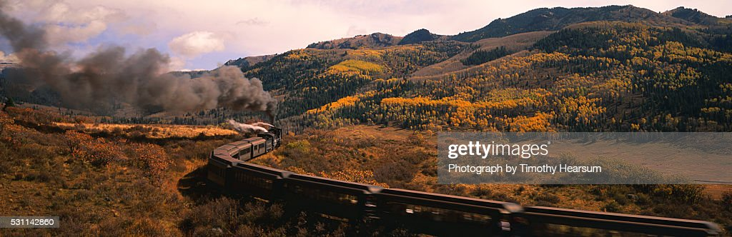 Cumbres & Toltec Scenic Railroad : Stock Photo
