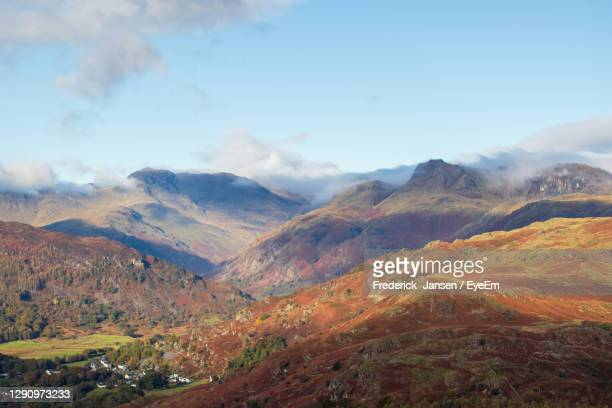 cumbrian hills - landscape scenery stock pictures, royalty-free photos & images
