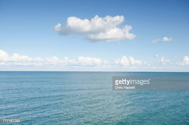 Cumulus clouds over Atlantic Ocean