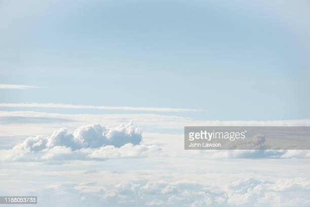 cumulus clouds - scenics stock pictures, royalty-free photos & images