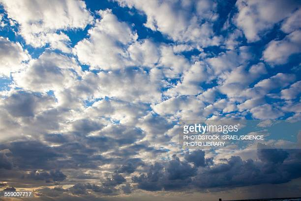cumulus cloudscape - photostock stock photos and pictures
