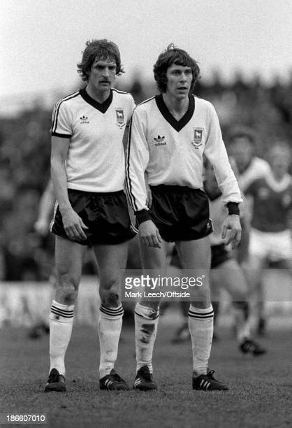 Cup 6th Round Football Nottingham Forest v Ipswich Town Frans Thijssen and Arnold Muhren