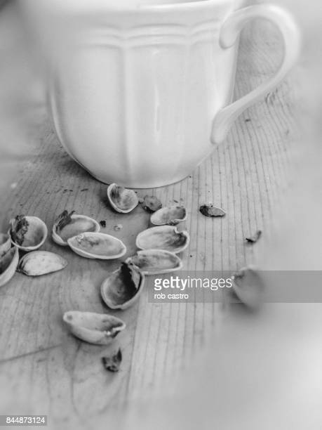Cup and Pistachio Shells