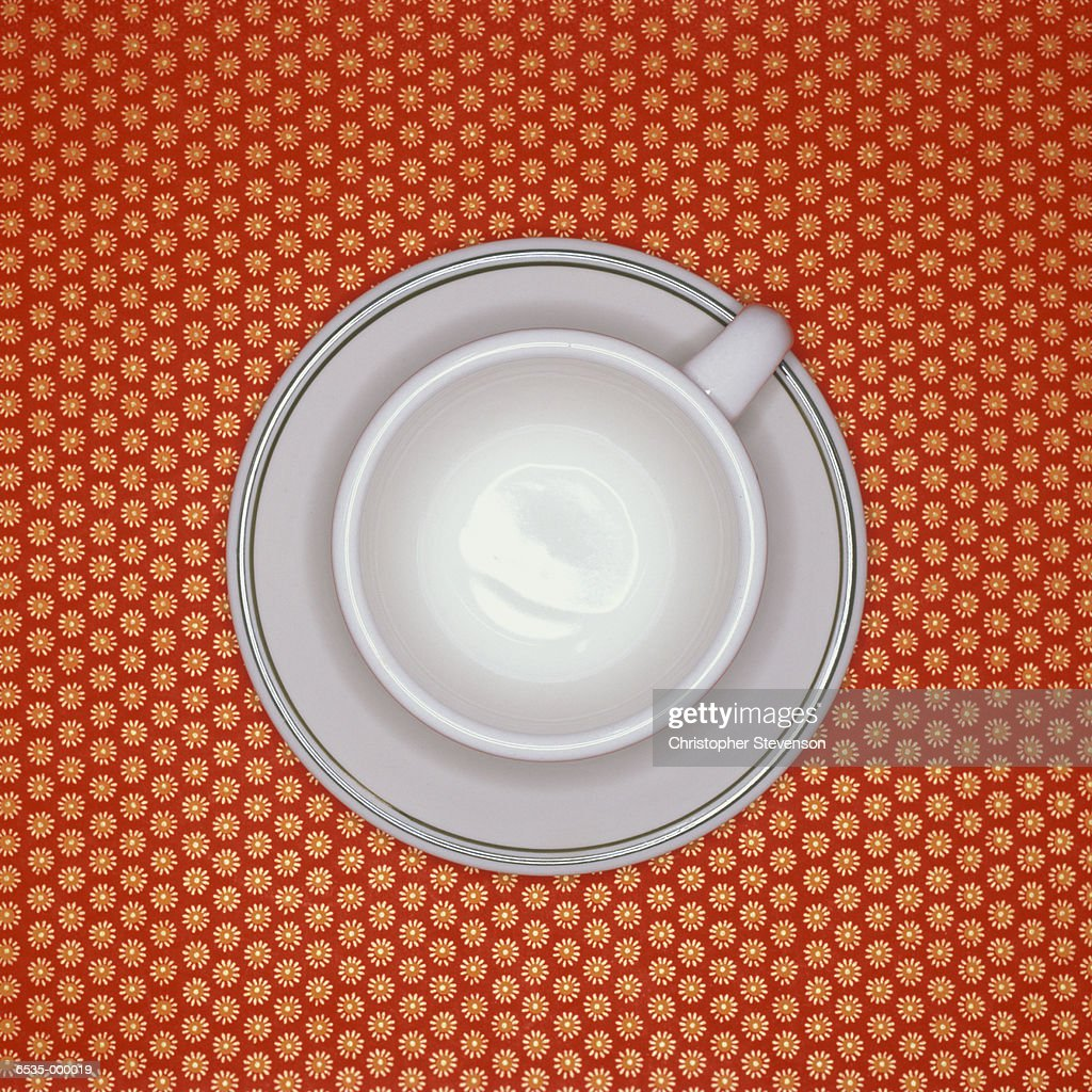Cup and Saucer : Stock Photo