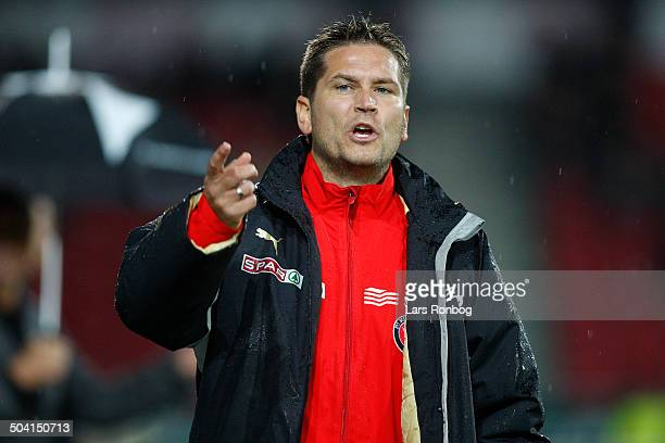 Cup Assistenttræner Thomas Thomasberg FC Midtjylland © Lars Rønbøg / Frontzonesportdk
