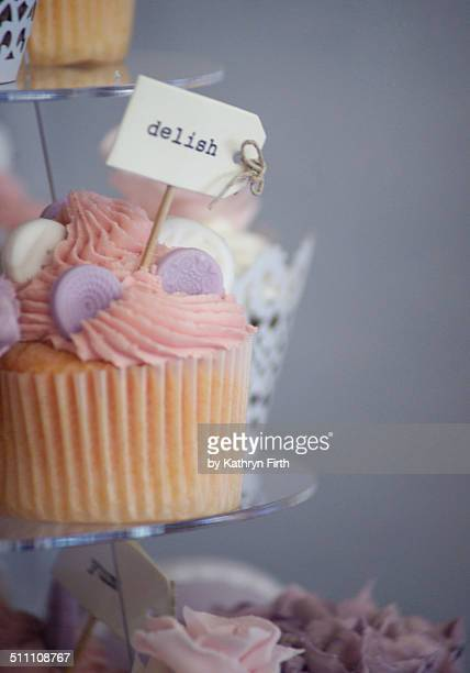 Cup cake for a wedding