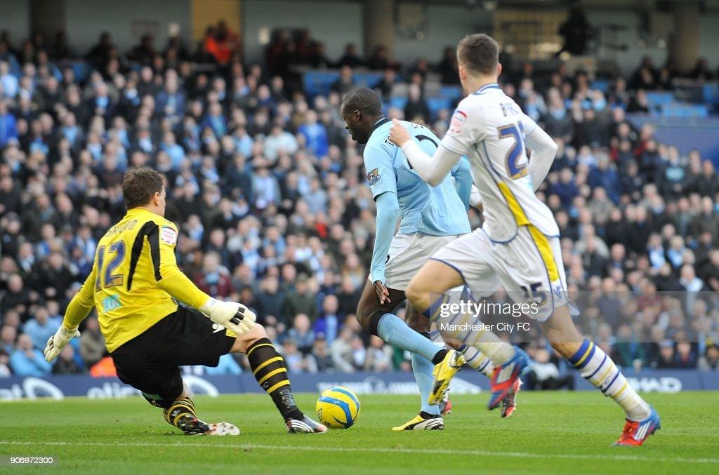 Soccer - FA Cup - Fifth Round - Manchester City v Leeds United - Etihad Stadium : News Photo