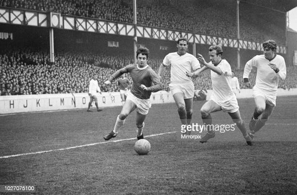 Cup Fifth Round match at Goodison Park. Everton 2 v Tranmere Rovers 0. Action during the match with three Tranmere players chasing after one Everton...