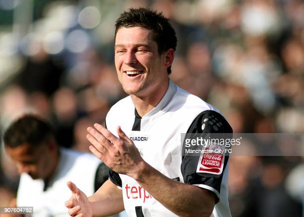 FA Cup Fifth Round Preston North End v Manchester City Deepdale Preston North Ends' David Nugent celebrates scoring the first goal of the game