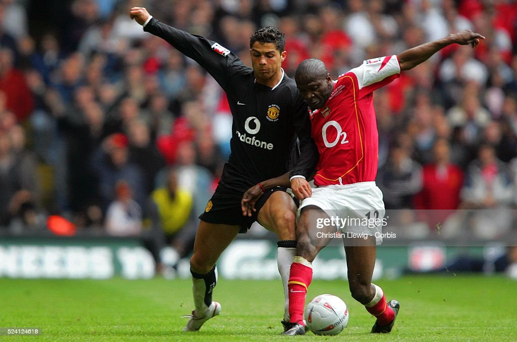 Soccer 2005 - FA Cup Final - Arsenal vs Manchester United : News Photo