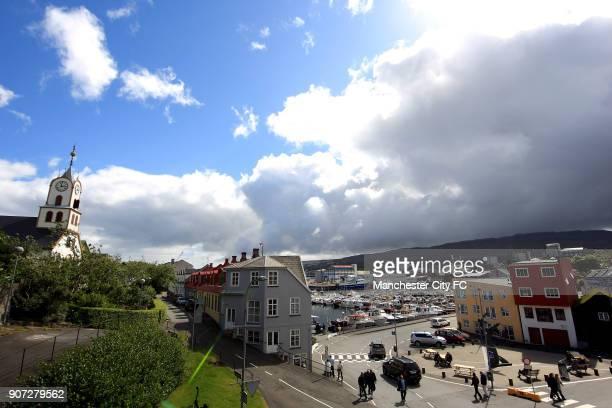 Cup, First Qualifying Round, First leg, EB Streymur v Manchester City, Torsvollur Stadium, General view of Torshavn
