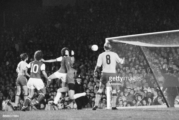 Cup First Round First Leg match at Highbury Arsenal 3 v FC Leipzig 0 13th September 1978