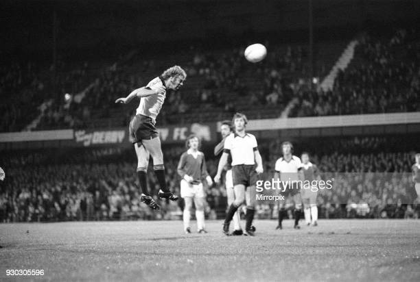 Cup First Round First Leg match at the Baseball Ground Derby County 12 v Finn Harps 0 15th September 1976