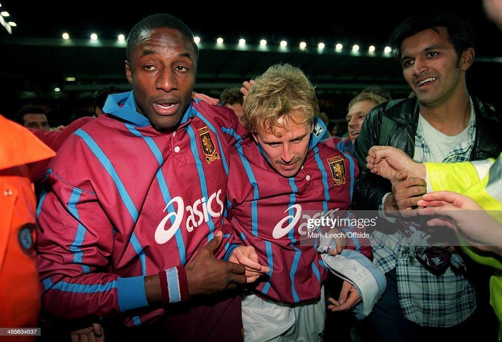 Aston Villa v Internazionale UEFA Cup 1994 : News Photo