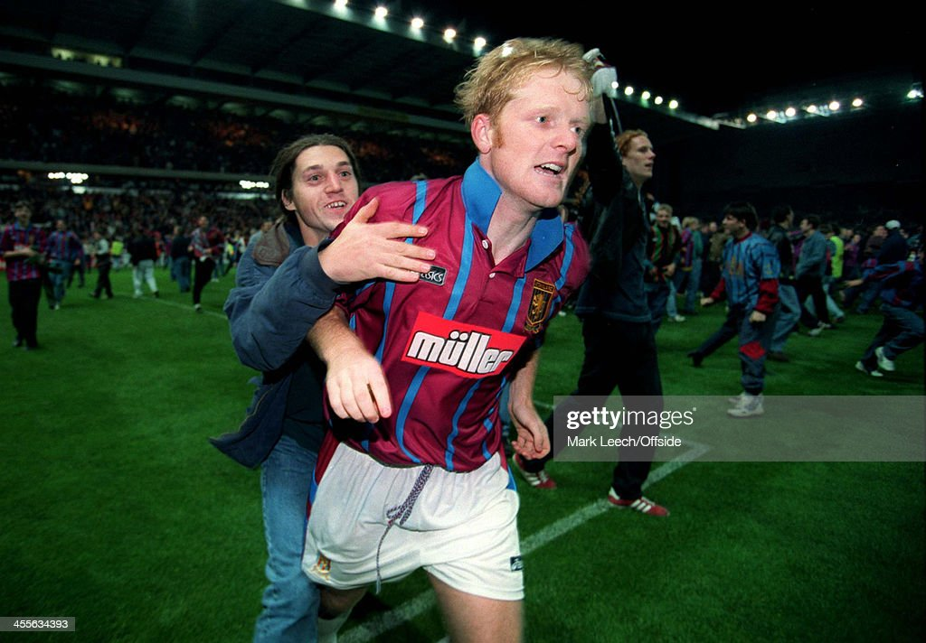 Aston Villa v Internazionale UEFA Cup 1994 : News Photo