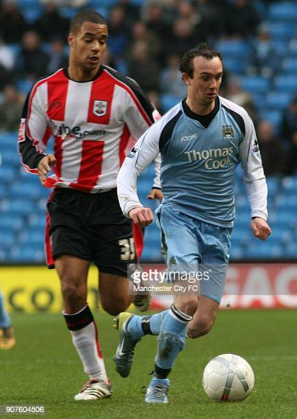 FA Cup Fourth Round Manchester City v Southampton The City of Manchester Stadium Manchester City's Stephen Ireland turns away from Southampton's...