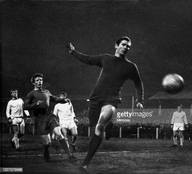 FA Cup Fourth Round replay match at Prenton Park Tranmere Rovers 2 v Coventry City 0 21st February 1968