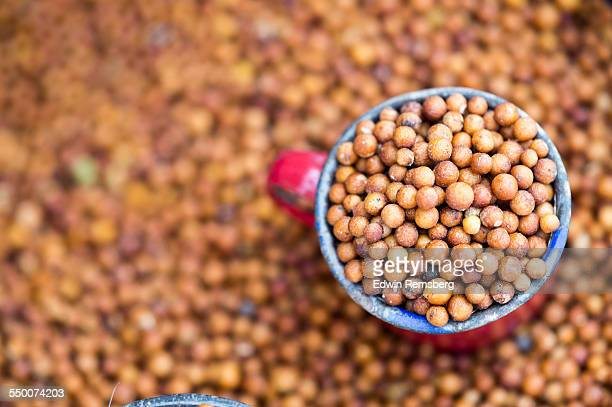 cup full of grain - sorghum stock pictures, royalty-free photos & images