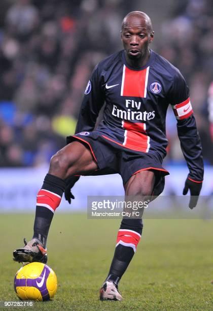 Cup Group A Manchester City v Paris Saint Germain City of Manchester Stadium Claude Makelele Paris Saint Germain