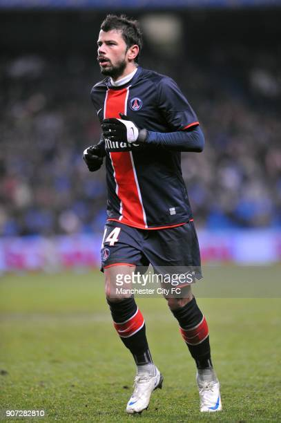 Cup Group A Manchester City v Paris Saint Germain City of Manchester Stadium Mateja Kezman Paris Saint Germain