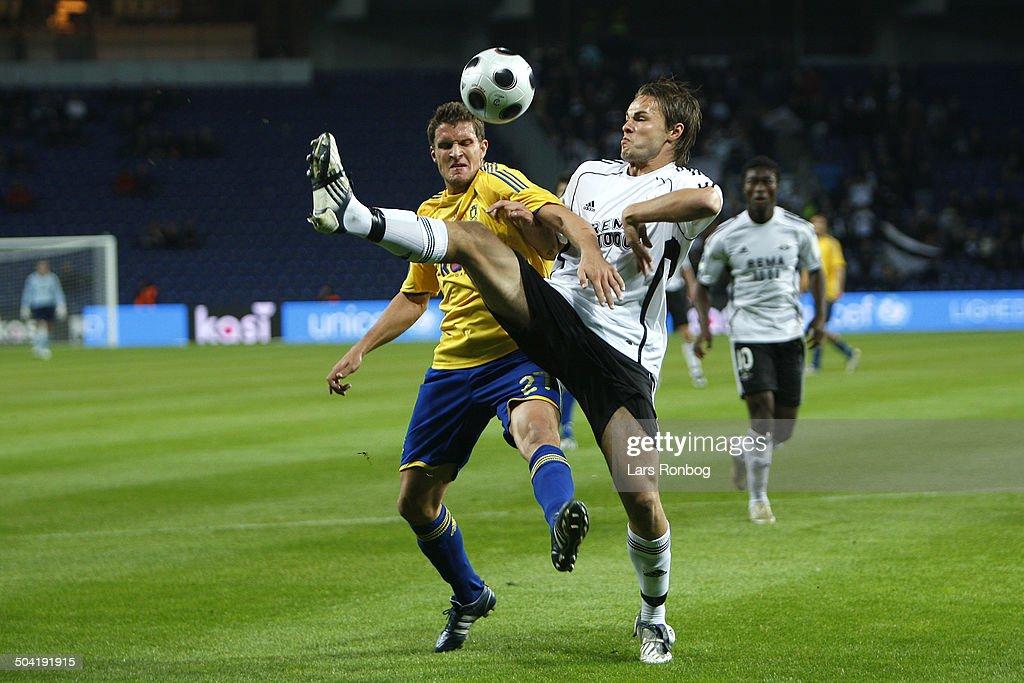 20.45 UEFA Cup Brondby-Rosenborg : News Photo