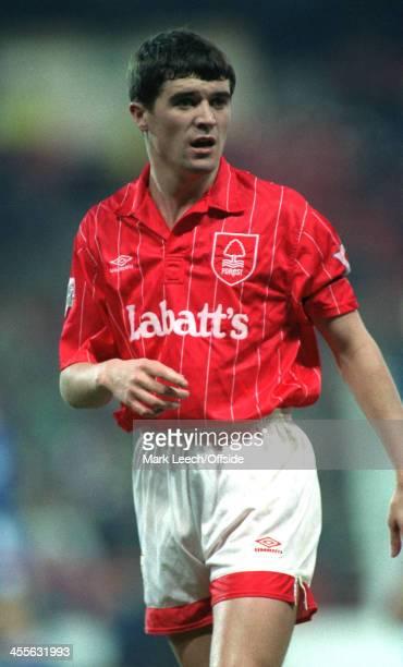 Cup - Nottingham Forest v Southampton FC, Roy Keane.