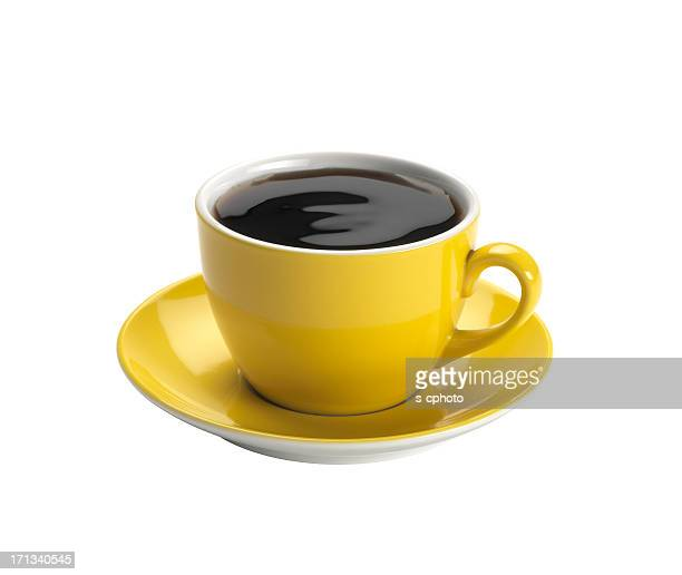 cup of coffee +clipping path - espresso stock photos and pictures