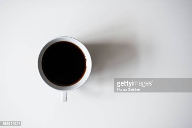 A cup of coffee is captured on August 12 2016 in Berlin Germany