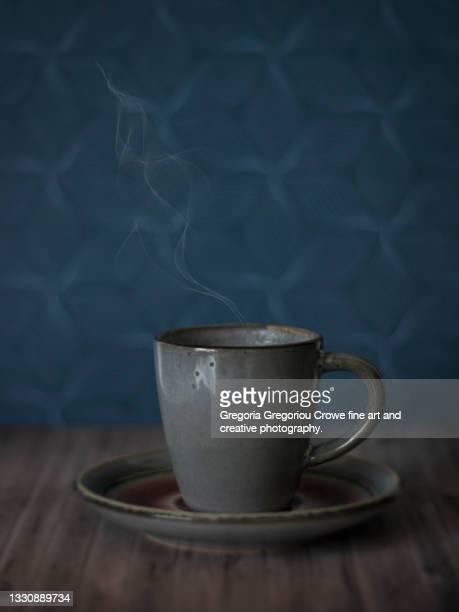 cup of coffee (tea) - gregoria gregoriou crowe fine art and creative photography. foto e immagini stock