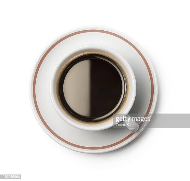 Tasse Kaffee (CLIPPING-Pfad enthalten
