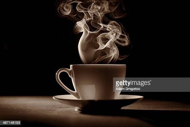 cup of coffee (tea) - hot tea stock pictures, royalty-free photos & images