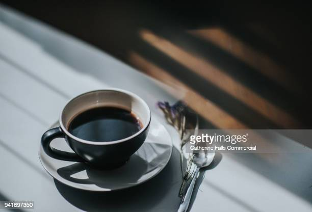 cup of coffee - coffee stock photos and pictures