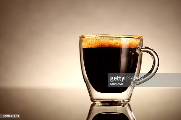 cup of espresso - espresso stock photos and pictures
