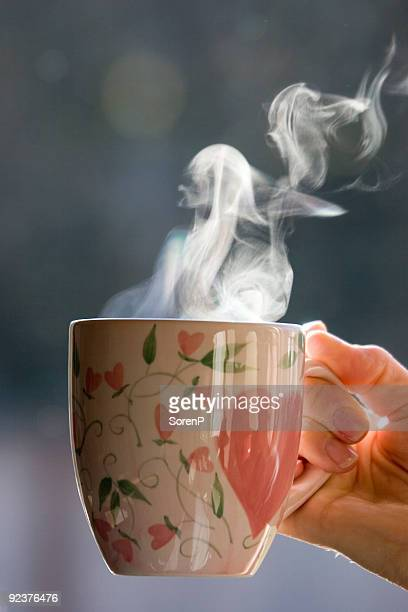 a cup of morning coffee or tea - tea hot drink stock pictures, royalty-free photos & images