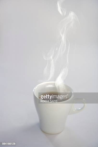 A Cup of Steaming Hot Coffee