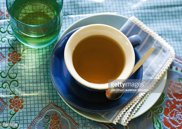 Cup of tea, with saucer