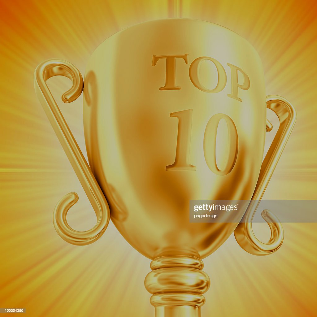 TOP 10 cup : Stock-Foto