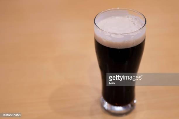 Cup, Pint of cool black, dark beer