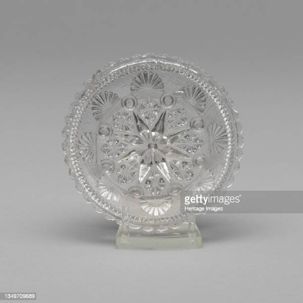 Cup plate, 1830/35. Artist Unknown.