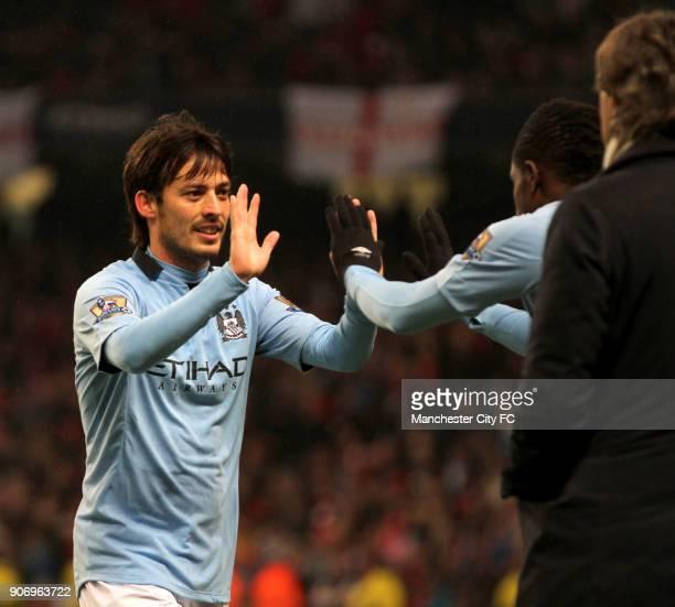 FA Cup Quarter Final Manchester City v Barnsley Etihad Stadium Manchester City's David Silva is substituted for teammate Abdul Razak