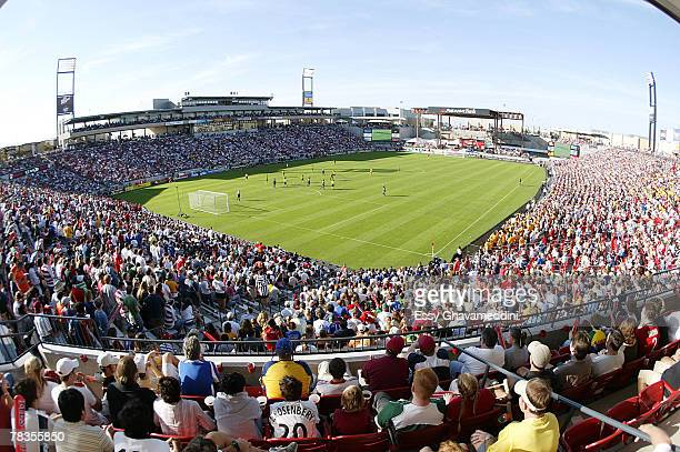 MLS Cup Stadium shot during todays championship match at Pizza Hut Park in Frisco Texas November 13 2005 The Los Angeles Galaxy defeated the New...