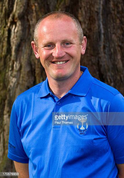 Cup team member Daniel Greenwood of Forest Pines Golf Club poses for a photograph after the final round of the Glenmuir PGA Professional Championship...