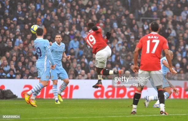 FA Cup Third Round Manchester City v Manchester United Etihad Stadium Manchester United's Danny Welbeck scores the second goal of the game