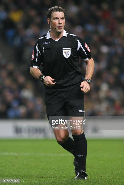 FA Cup Third Round Replay Manchester City v West Ham United City of Manchester Stadium Referee Mark Clattenburg