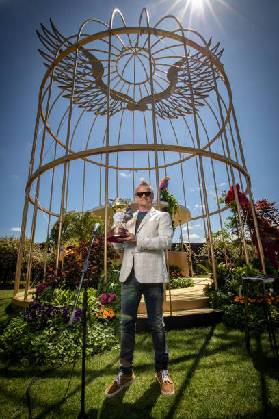 AUS: Melbourne Cup Carnival Entertainment Hub Unveiled At Flemington