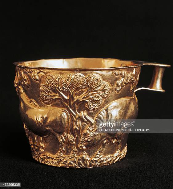 Image result for In the Peloponnese violent cup of Vaphio