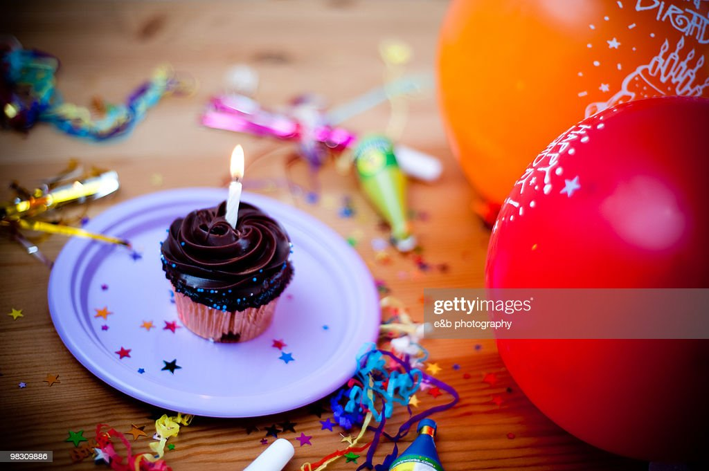Cupcake party : Stock Photo