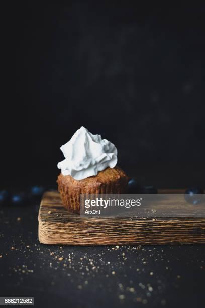 Cupcake with vanilla buttercream