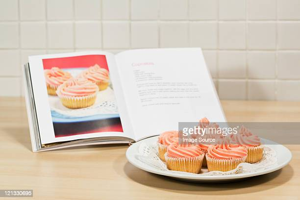 Cupcakes and cookery book