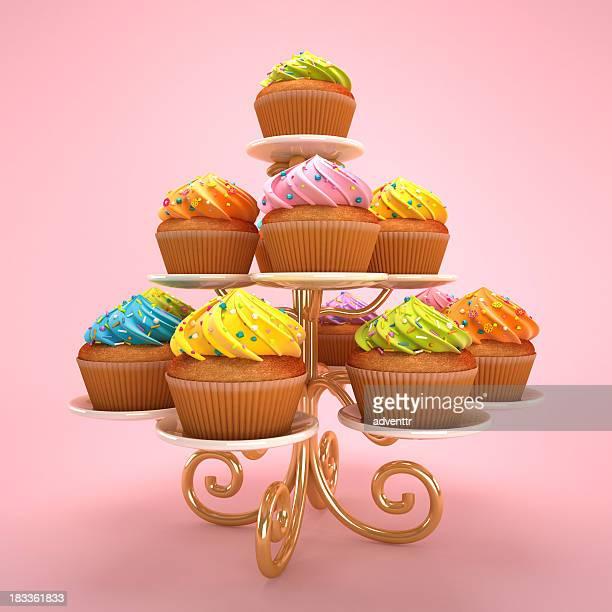 arrangement de Cupcakes